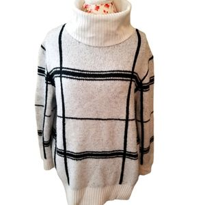 Ann Taylor Slouchy Turtleneck Sweater Large